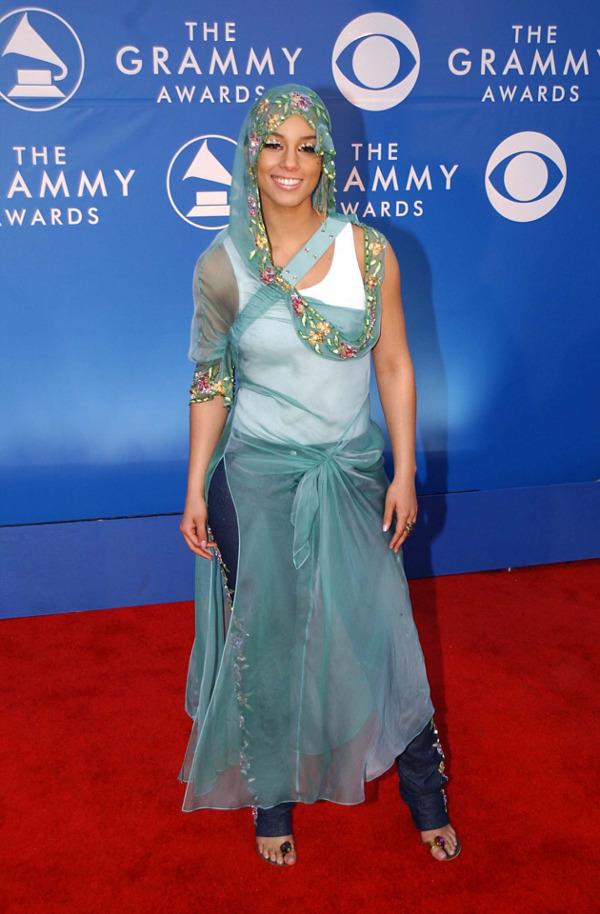 Os vestidos de gala mais controversos de sempre - Alicia Keys