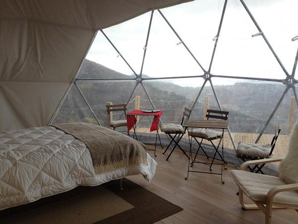 Glamping - acampar com conforto: Serra da Estrela