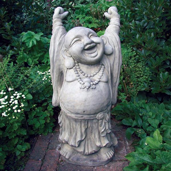 Esculturas para jardim que impressionam - alegria!
