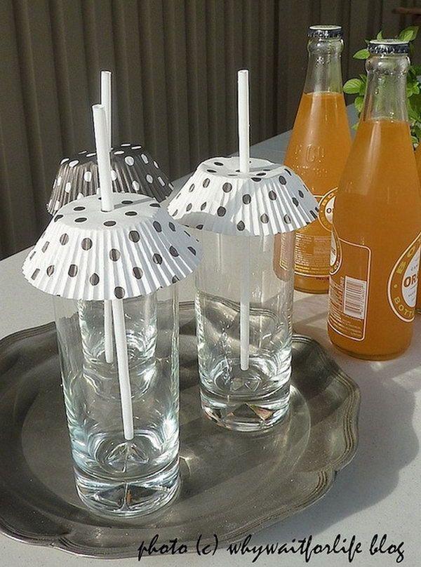 Um piquenique perfeito - mantenha as bebidas e comida tapadas