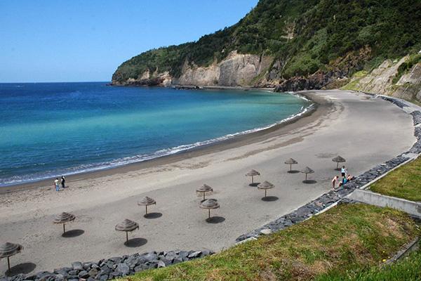 Praias dos Açores - Praia da Ribeira Quente, Ilha de São Miguel