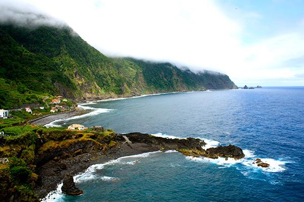 Praias do arquipélago da Madeira - Praia da Laje – Seixal, Ilha da Madeira