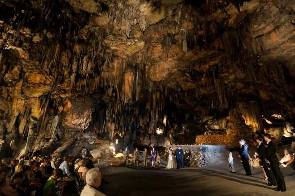 Casamentos mais originais de sempre - casamento numa caverna