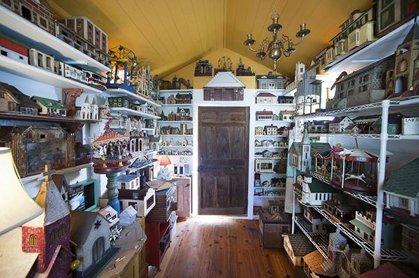 Coleções completamente loucas - coleção de casinhas de contos de fadas