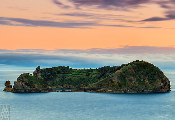Praias dos Açores - Ilhéu de Vila Franca, Ilha de São Miguel