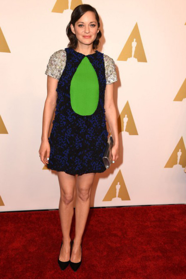 Os vestidos de gala mais controversos de sempre - Marion Cotillard