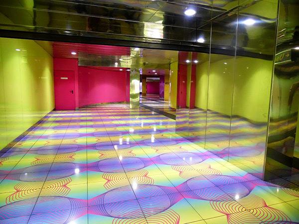 As mais belas estações de metro do mundo - Estação de metro Universidade de Nápoles – Itália