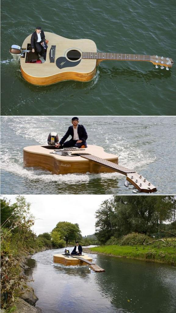 Barcos completamente loucos - barco-viola