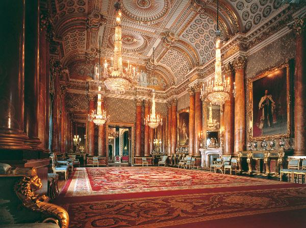 Palácios imponentes - Palácio de Buckingham – Londres, Reino Unido