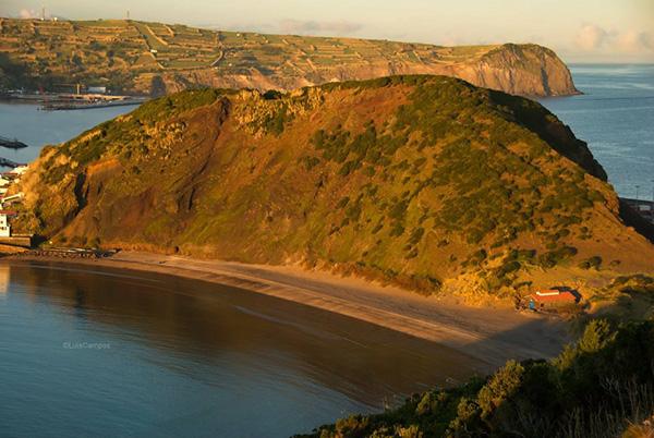 Praias dos Açores - Praia Porto Pim, Ilha do Faial