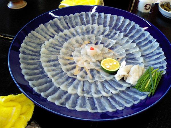 Pratos mais bizarros do mundo - fugu, peixe japonês venenoso