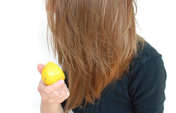 Usos surpreendentes do limão - faz nuances no cabelo