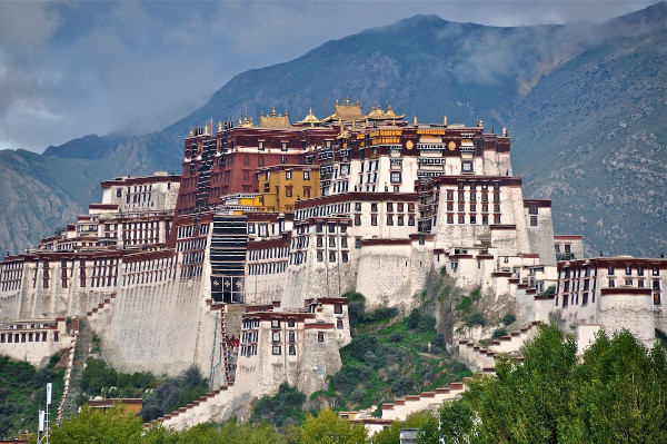 Palácios imponentes - Palácio de Potala – Lassa, Tibete