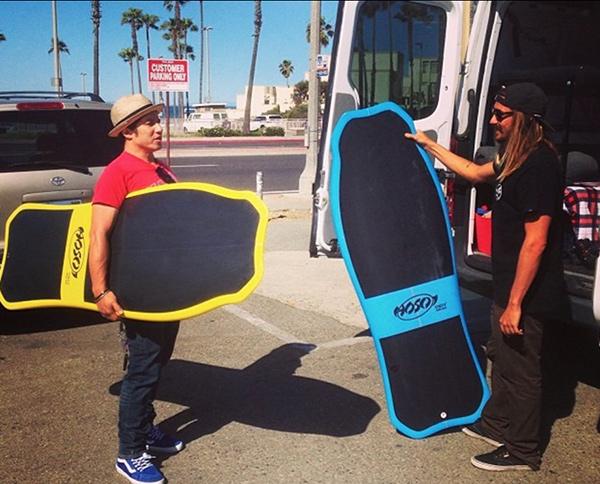 10 pranchas de surf originais - prancha de land paddle para surfar nas ruas