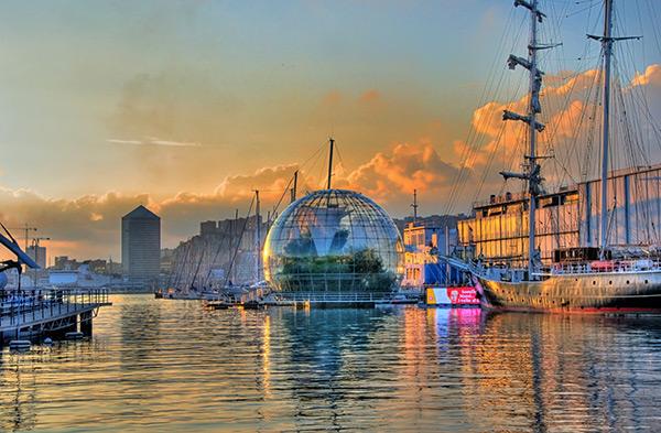 Aquários espectaculares - Aquário de Génova, Génova – Itália