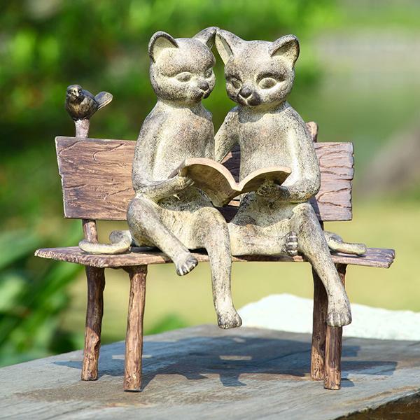 Esculturas para jardim que impressionam - a ler