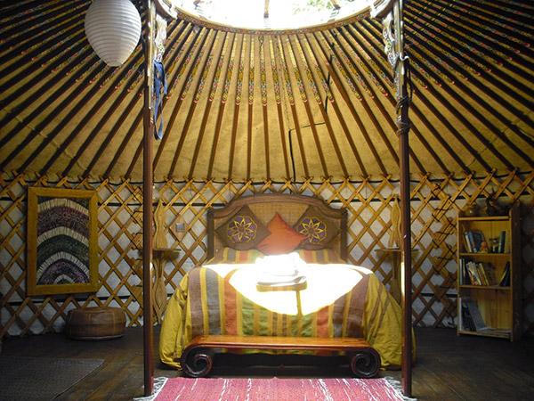 Glamping - acampar com conforto
