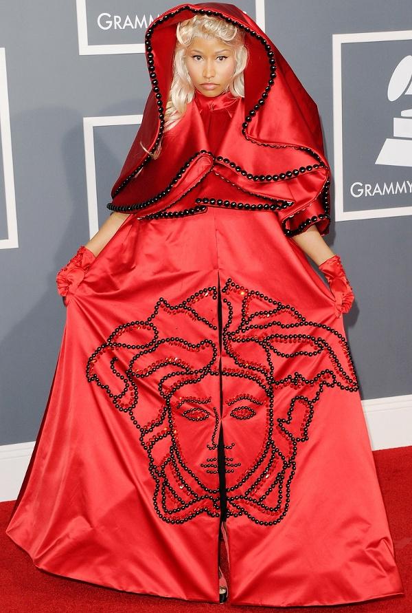 Os vestidos de gala mais controversos de sempre - Nicki Minaj