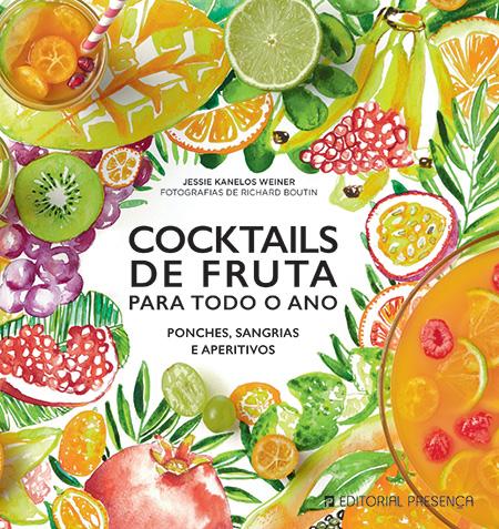 Capa do livro Cocktails de Fruta Para Todo o Ano