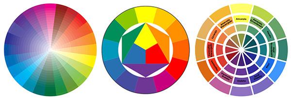 Decoração com cores