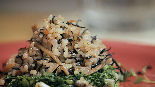 Alimentos ricos em cálcio - Alga Hijiki