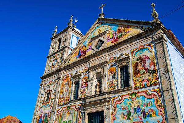 Igrejas lindas em Portugal - Igreja Paroquial de Válega, Ovar