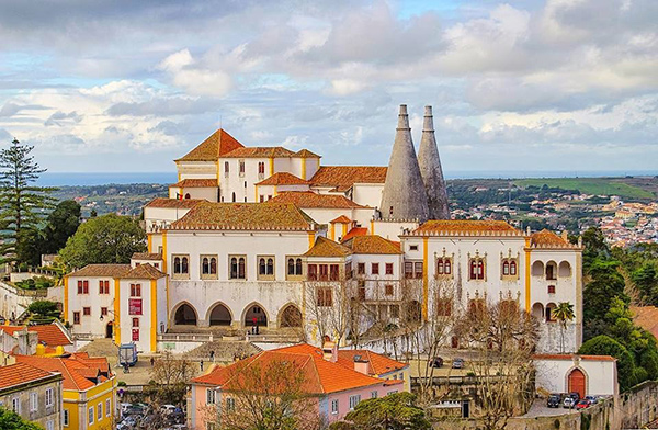 Sintra, um lugar mágico - Palácio Nacional de Sintra