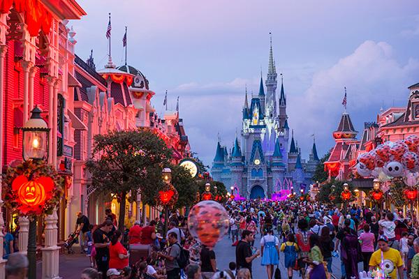 Parques temáticos espectaculares - Disney World em Orlando, Flórida