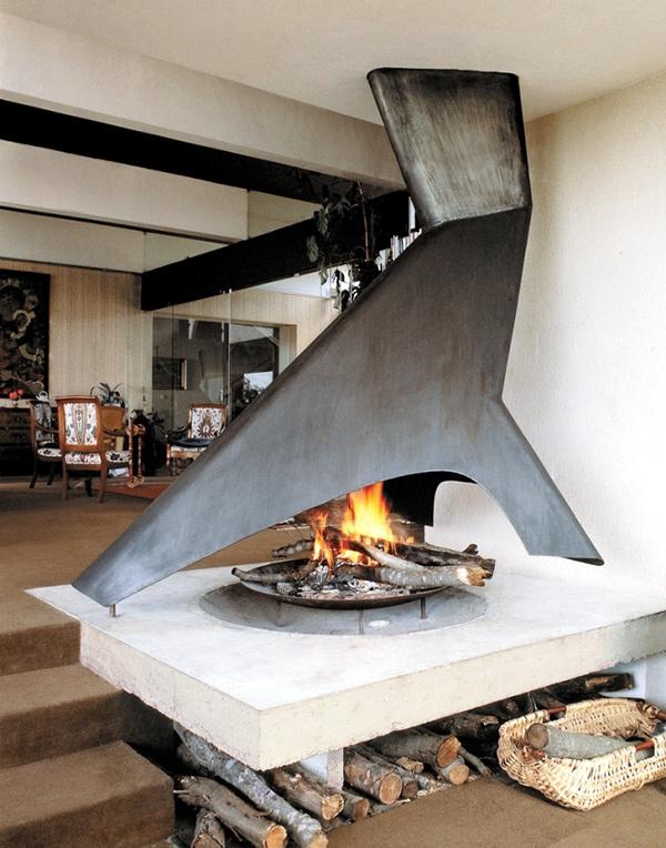 Casas com lareira - um ar bem rústico