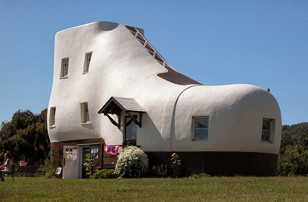 Casas que o vão deixar de boca aberta - casa em forma de bota