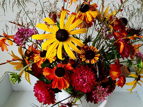 Decoração de Outono, dicas úteis - Mude as flores