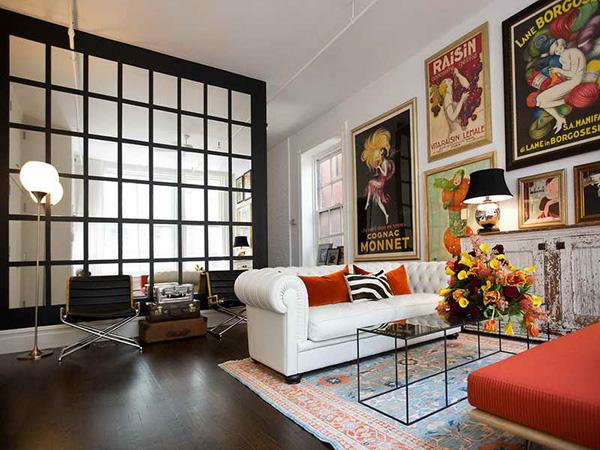 Embelezar as paredes de sua casa - quadros grandes