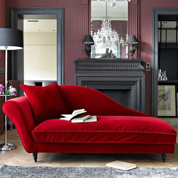 Sugestões de decoração: chaises longues - chaise longue luxuriante