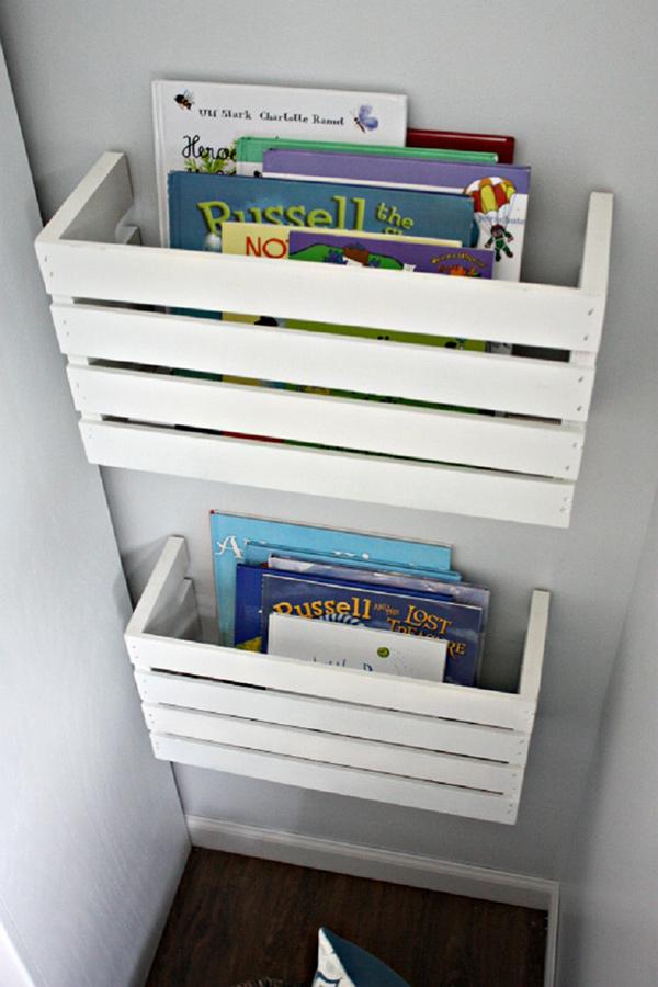 Quartos mais arrumados e organizados - crie soluções recorrendo às tábuas de madeira ou paletes