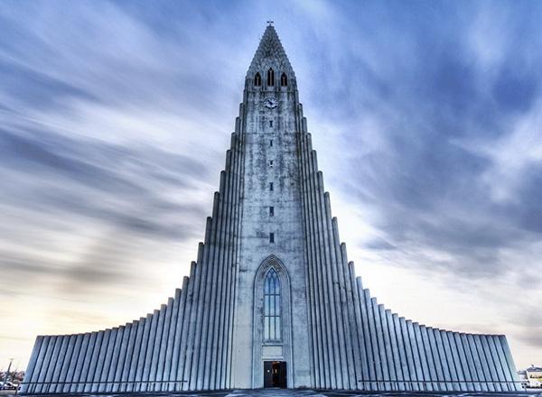 As mais belas igrejas do mundo - Igreja de Hallgrímur - Reykjavík, Islândia