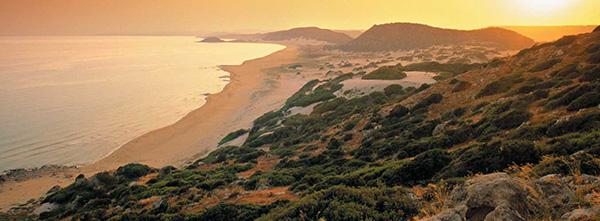 Praias lindas banhadas pelo Mediterrâneo - Praia Dourada, Karpaz – Chipre