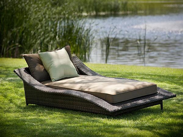 Sugestões de decoração: chaises longues - chaise longue para o exterior