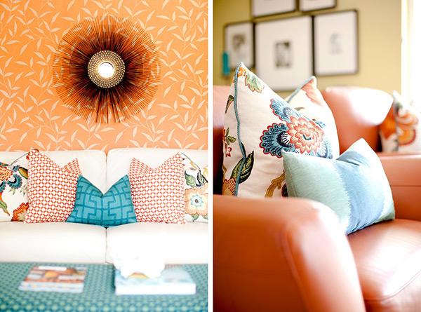 Decoração com cores - complementares