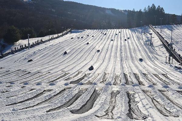 Destinos de neve românticos - Tannersville, Pensilvânia - EUA