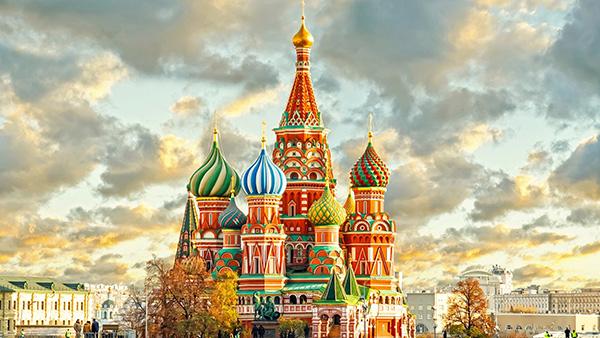As mais belas igrejas do mundo - Catedral de São Basílio - Moscovo, Rússia