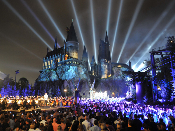 Parques temáticos espectaculares - Parque Temático do Harry Potter, Universal Studios de Hollywood