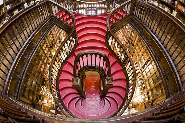 Um dia no Porto - livraria Lello