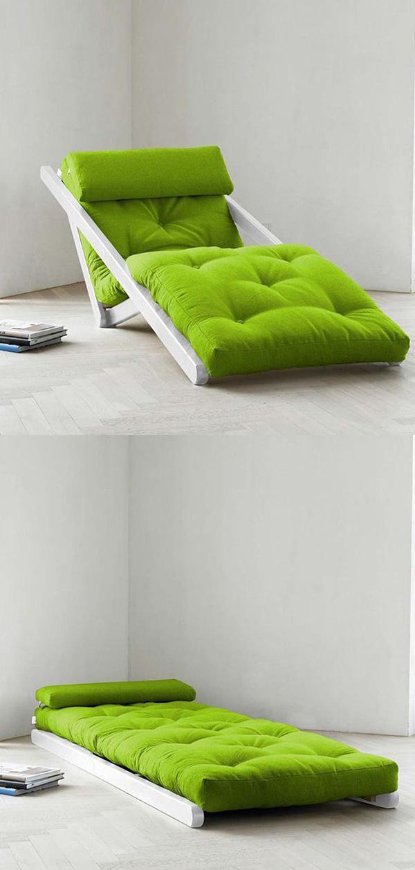 Sugestões de decoração: chaises longues - chaise longue versátil