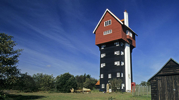 Casas que o vão deixar de boca aberta - casa torre de água