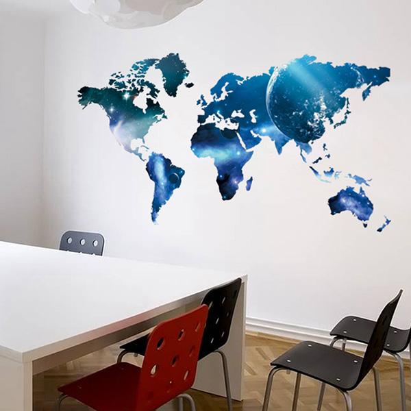Embelezar as paredes de sua casa - pintar directamente nas paredes