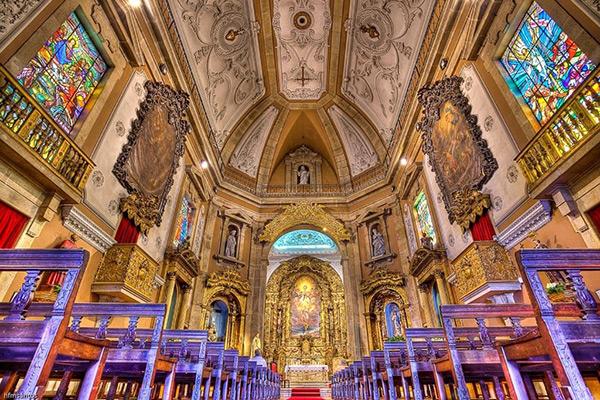Igrejas lindas em Portugal - Igreja de Santo Idelfonso, Porto