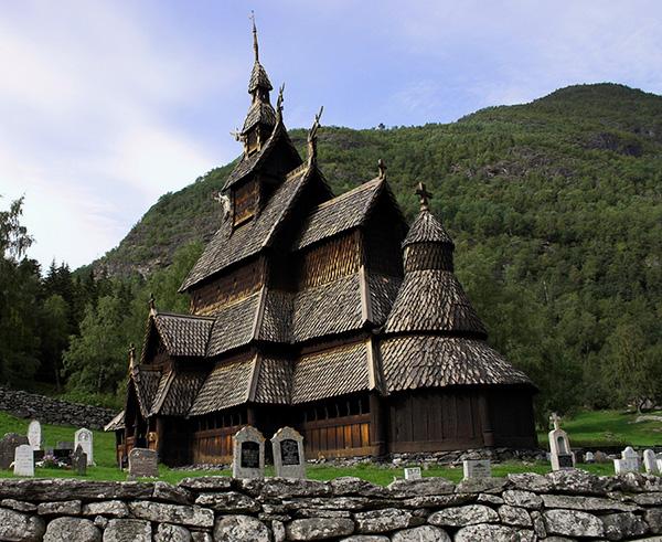 As mais belas igrejas do mundo - Igreja de Borgund - Borgund, Noruega