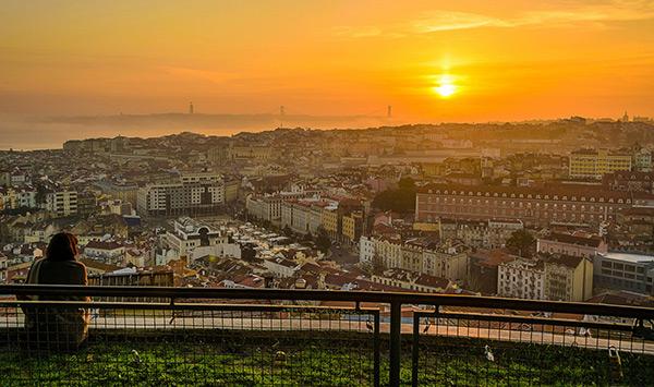 Roteiro de um dia em Lisboa - Miradouro da Graça