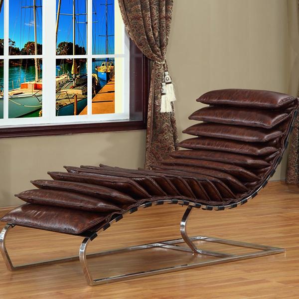 Sugestões de decoração: chaises longues - design e conforto