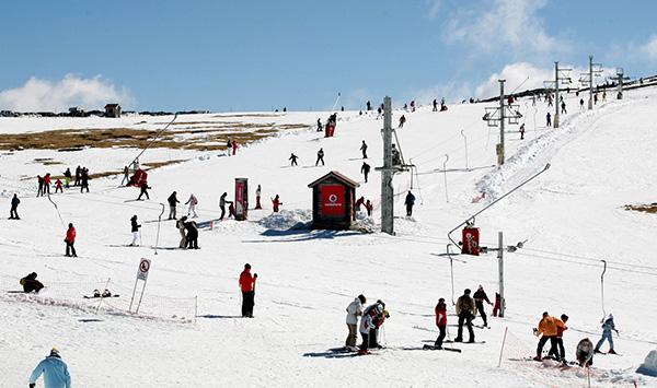 Destinos de neve românticos - Serra da Estrela – Portugal